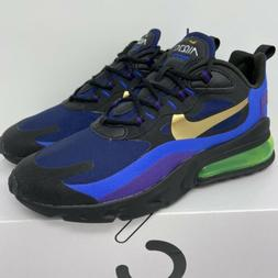 Nike Air Max 270 React Men's Size 9 Running Shoes Heavy Meta