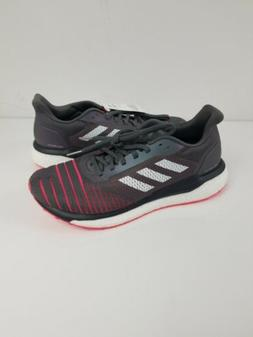 Adidas Boost Solar Drive Mens Gray Shock Red Running Shoes D