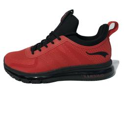 ONEMIX Damping Men Running Cushioning High Top Red/Black Sho