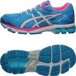 Asics GT-1000 3 blue/white/pink Women's Runningshoes with Ge