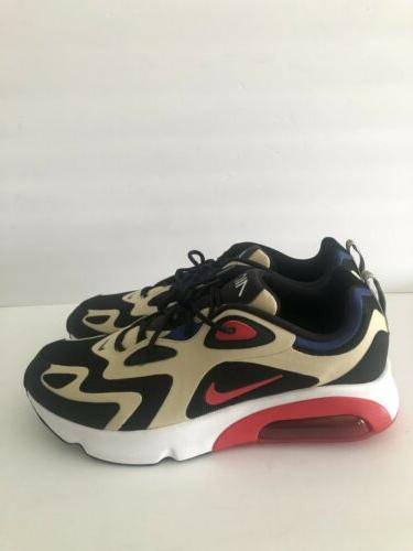 Air Gold Red Size Shoes DEADSTOCK
