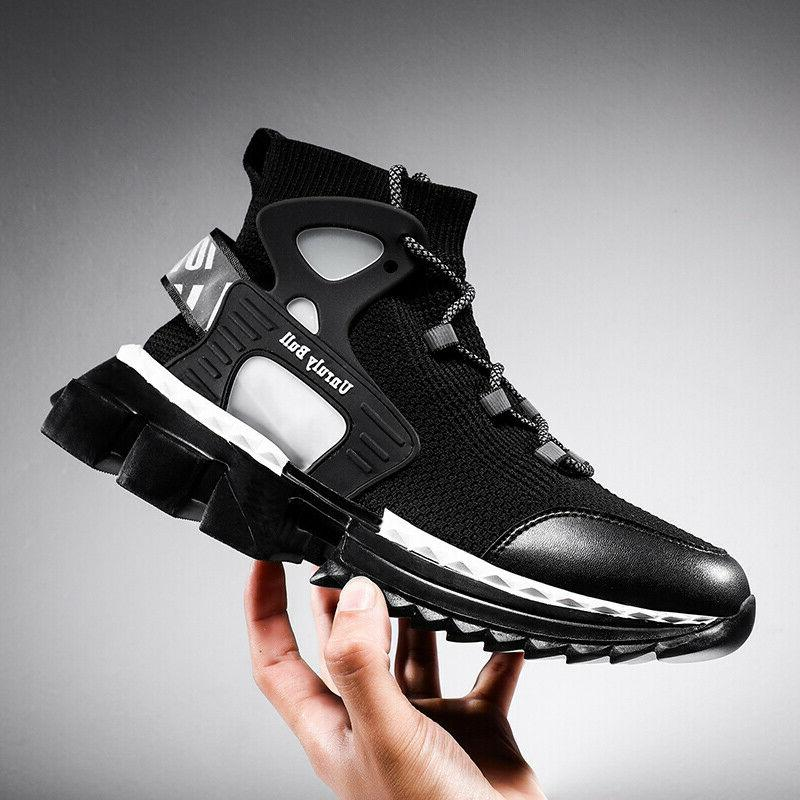 Fashion Sneaker High Top for Breathable Running Shoes