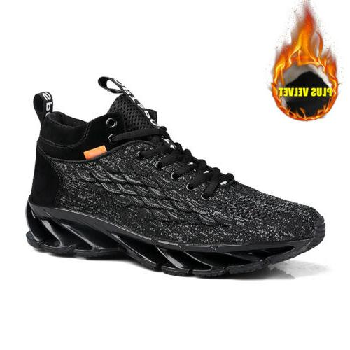 man big size sneakers outdoor mesh lace