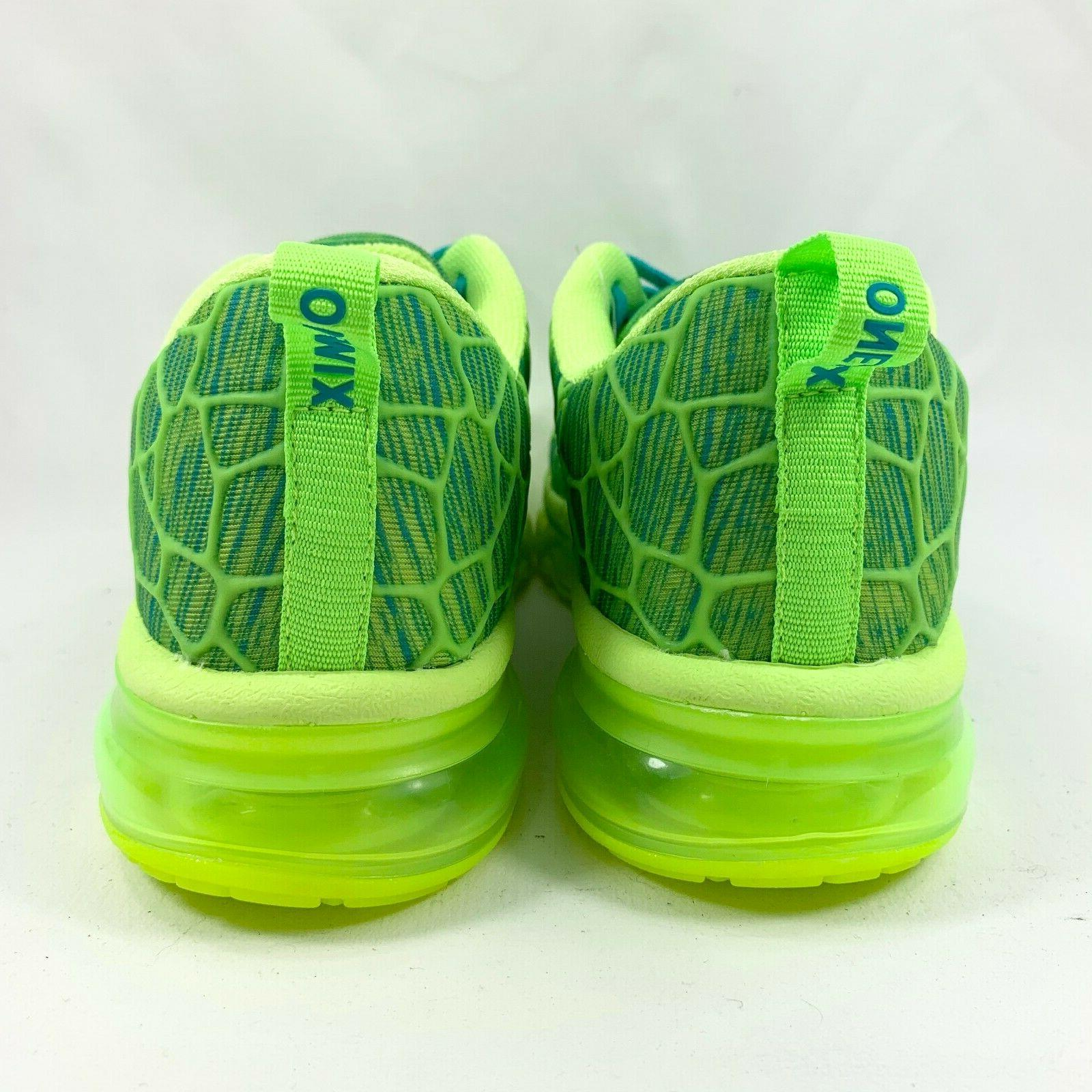 ONEMIX Air Sports Sneaker Fluorescent Green 8.5