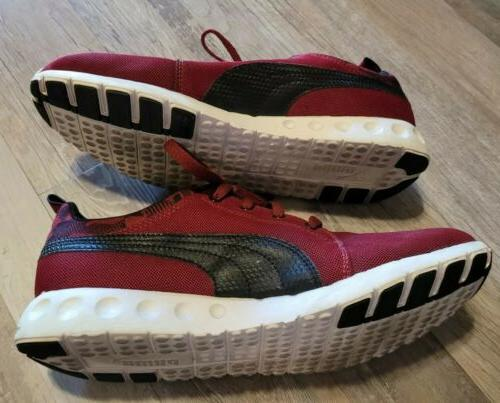 Puma Sneakers Sport Lifestyle Athletic Lace Up Red Running