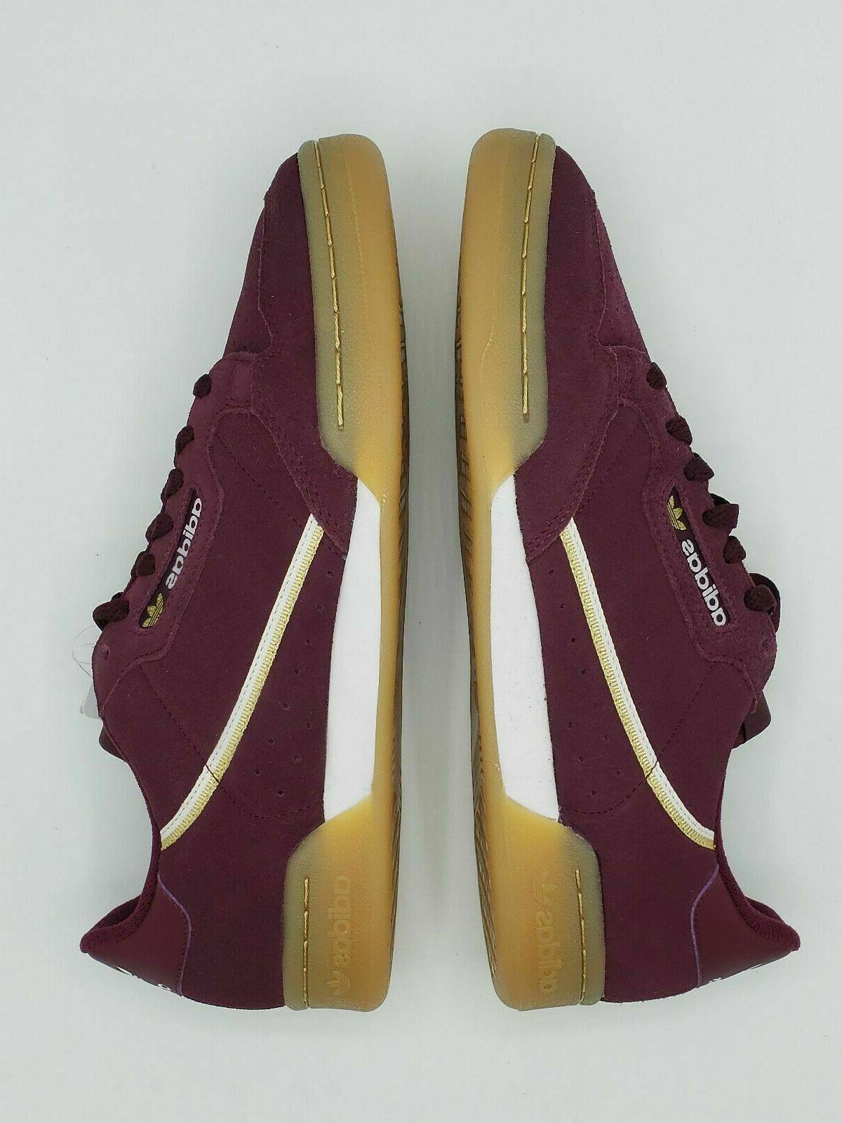 Adidas Continental 80 Shoes Sneakers MAROON