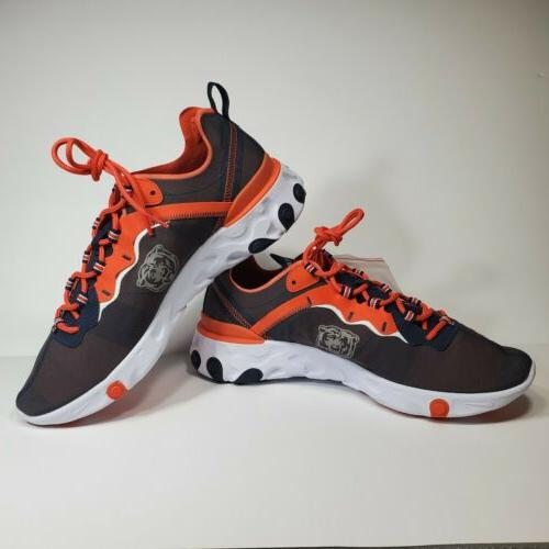 react element nfl chicago bears running shoes