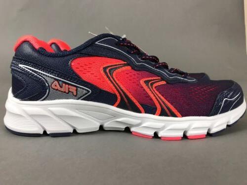 running lightweight mesh coral navy shoes cool