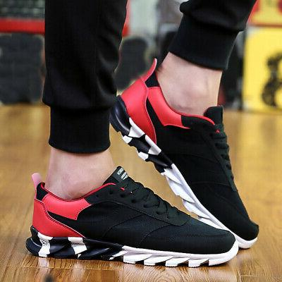 US Men's Running Shoes Absorbing Breathable Casual USA