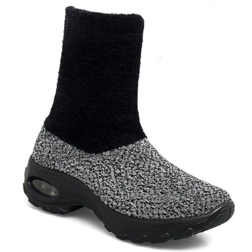 Shoes Fur Lined Lightweight Walking Fashion