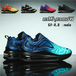 Men's Air Cushion Sports Athletic Sneakers Outdoor Casual Ru