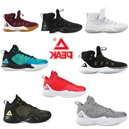 PEAK Men's Basketball Shoes Boots High Sports Sneakers EVA C