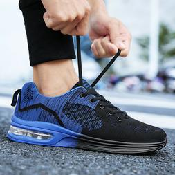 Men's Fashion Air Cushion Running Shoes Athletic Outdoor Spo