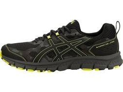 ASICS Men's GEL-Scram 4 Running Shoes Grey/Green/Black - Ama