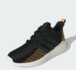 Adidas Mens Questar Flow Running Shoes Black/Gold Size 13 St