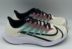 Nike NEW NIB Zoom Rival Fly Running Shoes Pale Ivory Jade CD