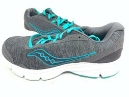 NEW! Saucony Women's Sapphire Road Running Shoes Charcoal/Te