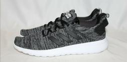 *NIB* Adidas Cloudfoam Lite Racer Men's Black Stretch Mesh