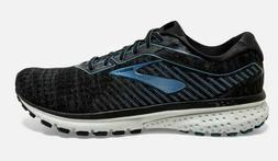 NIB MEN'S BROOKS 110316 058 GHOST 12 RUNNING CUSHION BLACK/B