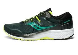 Saucony Omni Iso 2 Green Blue Mens Stability Pronation Runni