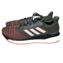 Adidas Solar Drive M Boost Mens Gray Shock Red Running Shoes