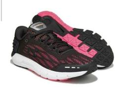 Under Armor Charged Rogue Womens Running Shoes Black Pink Sz