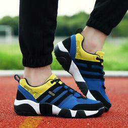 US Men Casual Sport Shoes Breathable Athletic Shock Absorbin