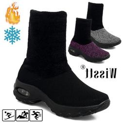 women s air cushion running shoes fur