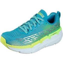 Women's Skechers MAX CUSHION 17692AQLM Aqua-Lime Lace-Up Run