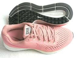 Nike Womens Air Zoom Pegasus 34 Running Shoes Rust Tropical