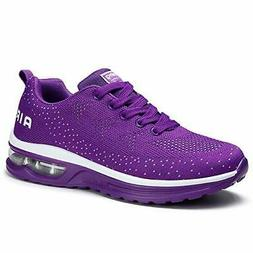 Womens Running Shoes Air Cushion Sneakers Lightweight Athlet
