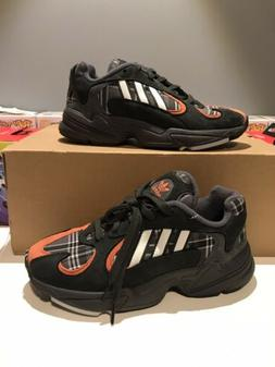 Adidas Yung-1 Orange Plaid EF3967 Men's 5 Women's 6.5 Ne